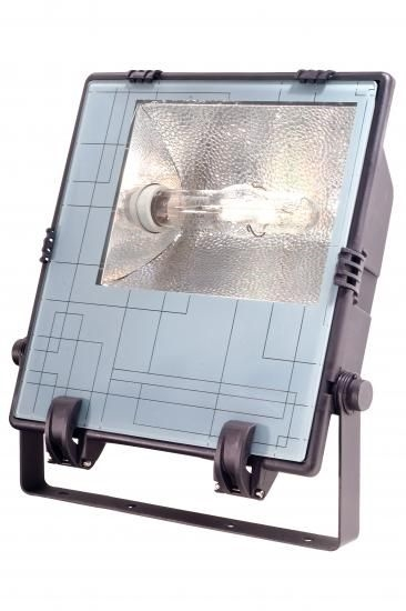 Kapego Negro 400W IP65 schwarz E40 Symm. Reflektor