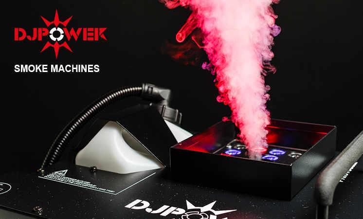 Professonelle Nebelmaschinen und DJ Fluid von DJ-Power bei Envirel kaufen