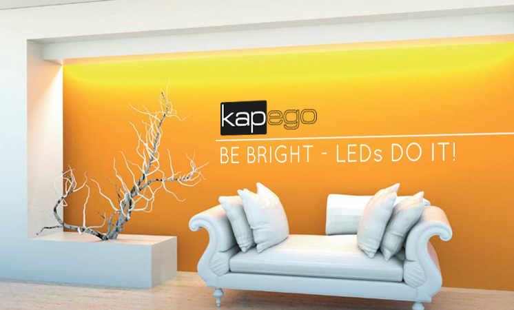 LED Mix It Sets, LED Controller, LED Stripes alles von Kapego für Wohnzimmer-, Küchenbeleuchtung perfekt ausgeleucthet
