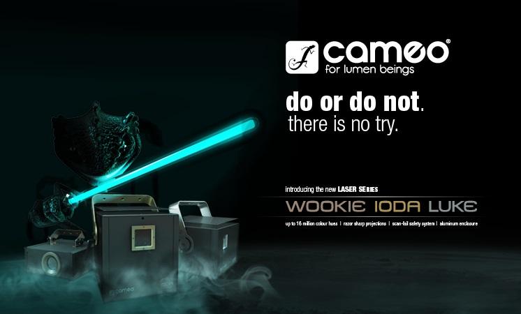 Die Cameo Laser Serie mit rasierscharfen Laserstrahlen