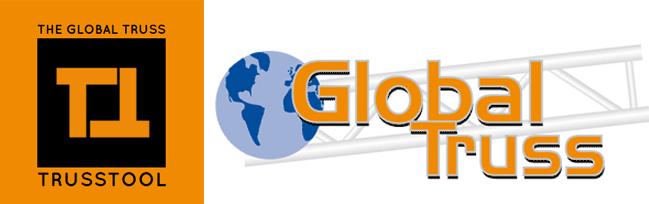 Das Global Truss Trusstool zum erstellen eigener Traversensysteme. Bauen Sie sich Ihren Messestand oder Ihre Bühnentraverse oder Ihre Eventkonstruktion mit dem 3D Trusstool selber.