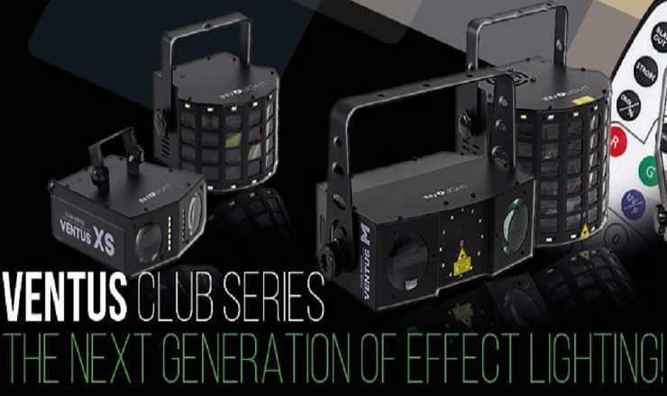 Die Neue Serie von Involight, die Involight Lichteffektgeräte mit starken LEDs zum unschlagbaren Preis