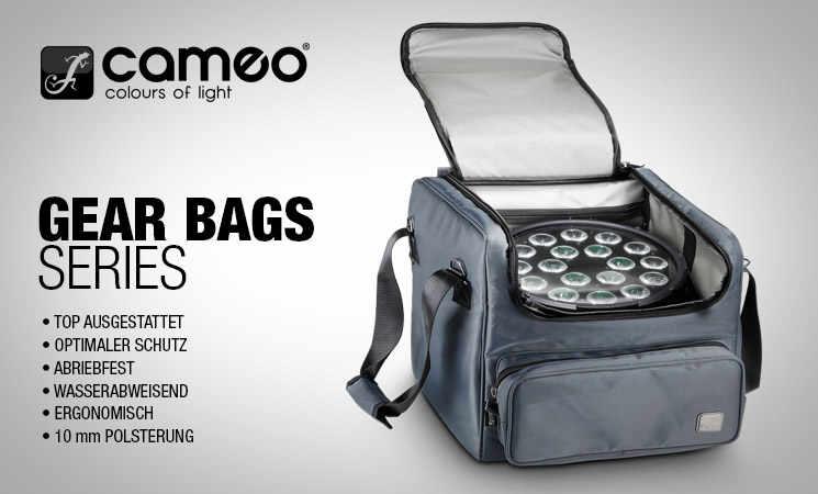 Schützen Sie Ihre Geräte beim Transport mit einer hochwertigen Tasche von Cameo.