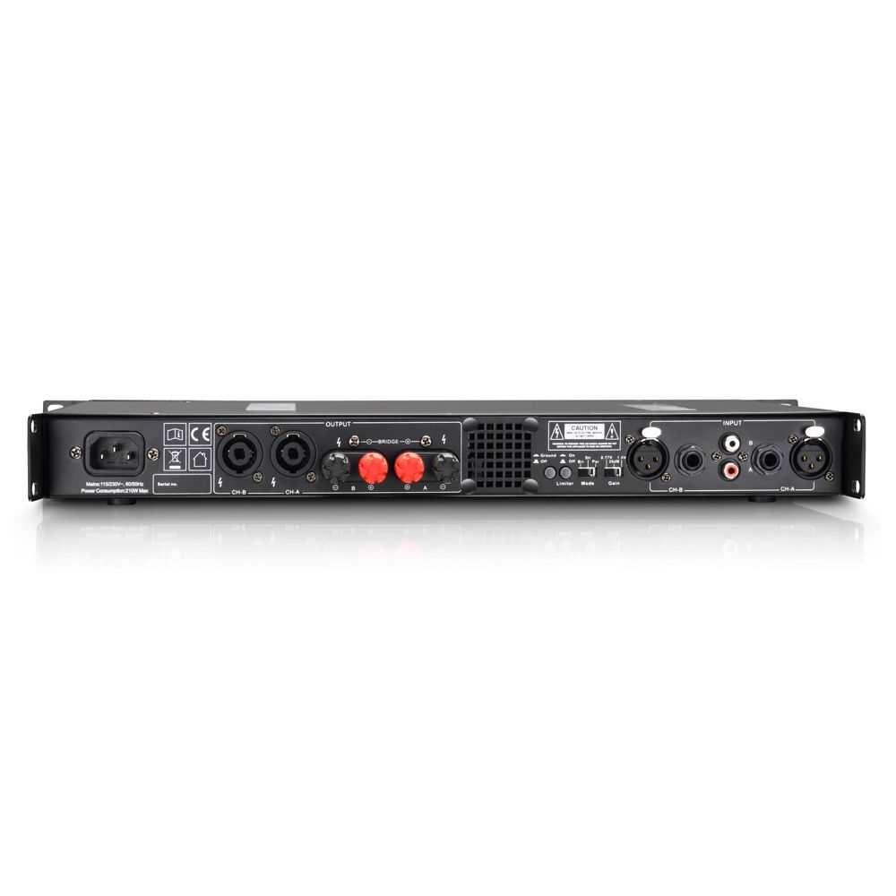 LD Systems XS 200 PA Endstufe Class D 2x100 Watt Bild 3