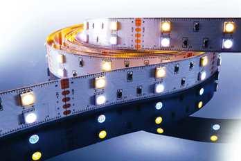 LED Stripe RGB 3m 12V IP20 180 LEDs  Mit dem flexiblen RGB LED-Stripe von Kapego lassen sich moderne und stylische Lichtdesign-Konzepte hervorragend umsetzen. Von der Pool-, Fassaden-, Regal-, Fernseher- und Bodenbeleuchtung, bis hin zu besonderen