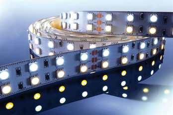 LED Stripe RGB 3m 24V IP20 360 LEDs  Mit dem flexiblen RGB LED-Stripe von Kapego lassen sich moderne und stylische Lichtdesign-Konzepte hervorragend umsetzen. Von der Pool-, Fassaden-, Regal-, Fernseher- und Bodenbeleuchtung, bis hin zu besonderen