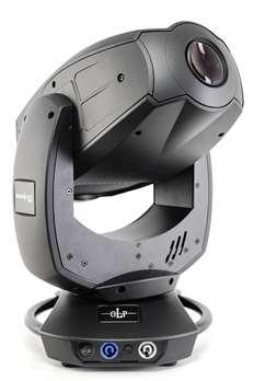 Volkslicht Spot schwarz  Mit einer neu entwickelten 300Watt RGB LED Light Engine ausgerüstet, ist der Volkslicht Spot mit der herkömmlichen 300/575W Moving Head Klasse (Entladungslampe) zu vergleichen. Weitere Merkmale sind alle Vorteile der LED Ligh
