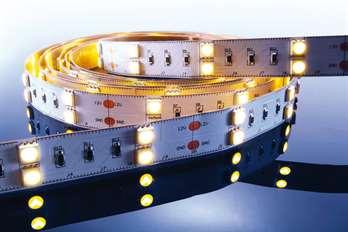 LED Stripe WW 3m 12V IP20 180 LED´s  Mit dem flexiblen WW LED-Stripe von Kapego lassen sich moderne und stylische Lichtdesign-Konzepte hervorragend umsetzen. Von der Pool-, Fassaden-, Regal-, Fernseher- und Bodenbeleuchtung, bis hin zu besonderen