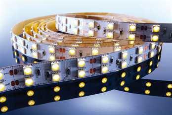 LED Stripe WW 3m 24V IP20 360 LED´s  Mit dem flexiblen WW LED-Stripe von Kapego lassen sich moderne und stylische Lichtdesign-Konzepte hervorragend umsetzen. Von der Pool-, Fassaden-, Regal-, Fernseher- und Bodenbeleuchtung, bis hin zu besonderen