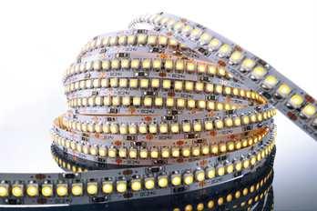 LED Stripe WW 3m 24V IP20 720 LED´s  Mit dem flexiblen WW LED-Stripe von Kapego lassen sich moderne und stylische Lichtdesign-Konzepte hervorragend umsetzen. Von der Pool-, Fassaden-, Regal-, Fernseher- und Bodenbeleuchtung, bis hin zu besonderen