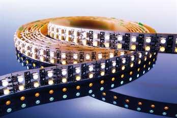 LED Stripe WW 3m 12V IP20 720 LED´s  Mit dem flexiblen WW LED-Stripe von Kapego lassen sich moderne und stylische Lichtdesign-Konzepte hervorragend umsetzen. Von der Pool-, Fassaden-, Regal-, Fernseher- und Bodenbeleuchtung, bis hin zu besonderen