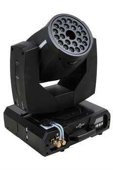 Nebelmaschine H-1S Moving Head  Der H-1S Moving Head von DJ Power ist eine Nebelmaschine mit 24x 5 Watt single colour LEDs, eine 3/5-pol XLR sowie Fernbedienung und einer sensationellen Feuersimulationen. Sie kann hängend und auch sehend verwend