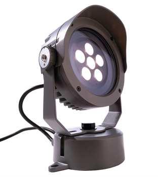 LED LED Power Spot 230V 18W CW 20° IP65  Der LED Power Spot von Kapego ist mit sechs Weißen LEDs versehen die 230 Volt und 18 Watt hat.  Eigenschaften von KapegoLED LED Power Spot 230V 18W CW 20° Ip65:  Produktart: Powerspot Typ: LED 6x 3 Watt CW