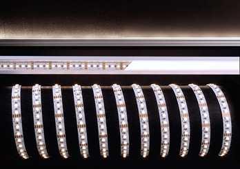 LED LED Stripe WW 5m 12V IP20 600 LEDs  Der LED Stripe CW von Kapego ist mit 5m Stripe der mit 480 LEDs bestückt ist. Er sorgt für eine Harmonische Beleuchtung und eignet sich für stylische Lichtdesign-Konzepte. Es ist egal Fassaden-, Regal-, Ferns