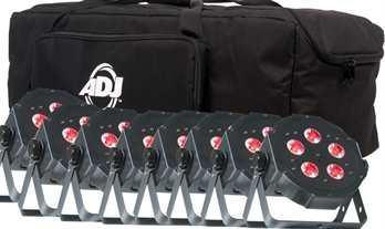 8xADJ Mega TRIPAR Profile PLUS mit Tasche