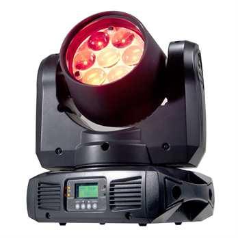 Inno Color Beam Z7  Der Inno Color Beam Z7 von ADJ ist ein professioneller LED-Moving-Head mit 70 W und einem motorisierten Zoom, mit dem ein variabler Abstrahlwinkel von 10 bis 60 Grad ermöglicht wird. Das Gerät wird von 7 vierfarbigen Osram-LEDs mi