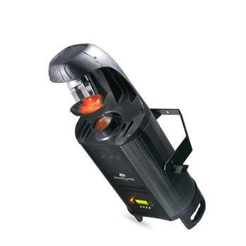 Inno Scan HP  Eigenschaften: - Planspiegel-Scanner mit weißer 80-Watt-LED - 3 Betriebsmodi - 2 DMX-Kanäle - 8 Farben + weiß - 6 auswechselbare Gobos + Effektscheinwerfer - elektronische Dimmung 0-100 % - 5 Dimmungskurven  Technische Daten: - Leuchtq