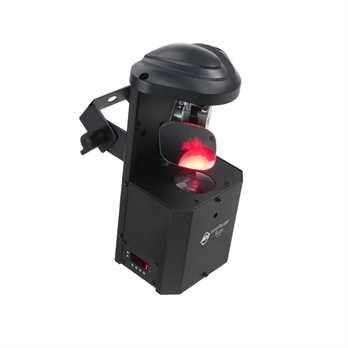 Inno Pocket Scan, 12 Watt LED, 8 Gobos  Die kompakte und leichte Konstruktion macht den Inno Pocket Scan von ADJ zum perfekten Beleuchtungseffekt für mobile Entertainer, kleine Nachtclubs, Bars oder Lounges, und für Bowling- und Entertainment-Center.