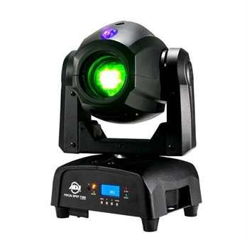 Focus Spot Two, 75 Watt Kalweiß+3 Watt UV Led  Der Focus Spot Two von ADJ ist ein leistungsstarken kopfbewegter Scheinwerfer mit 75W Kaltweiß-LED und einer 3W-UV-LED Er beinhaltet einen motorisierten Fokus, ein Gobo-Rad mit rotierenden, auswechselba