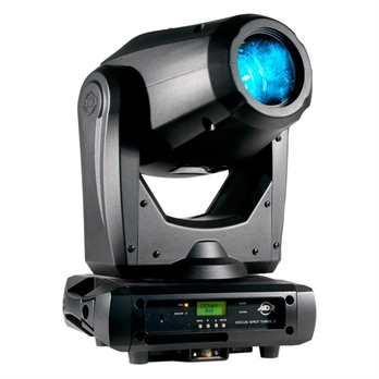 Focus Spot Three Z  Der neue Movinghead von ADJ hat eine 100 Watt Kaltweiße LED eingebaut und ist somit sehr hell. Das Gerät hat einen variablen Abstrahlwinkel (15-20 Grad). Der Focus Spot Three Z hat 2 Goboräder eins mit festen Gobos und das andere