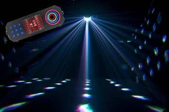 ADJ BOOM BOX FX3 mit 9 Lightshows