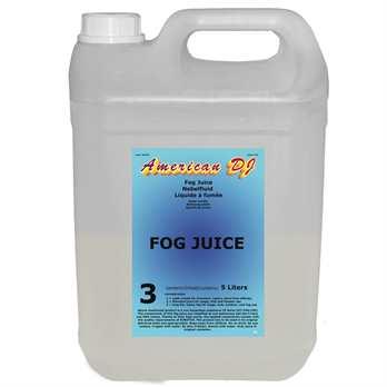 Fog juice 3 Heavy 5 Liter  Das Nebelfluid von ADJ in der Qualität Heavy ist ein lang anhaltendes und dichtes Nebelfluid was sich besonders gut für Bühnenshows oder Shows im freien eignet wo der Nebel nicht sofort wieder verschwinden soll. Das Fluid w