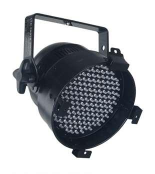 LED PAR56 kurz in schwarz mit 6DMX Kanälen  Die LED 56 kurz RGB Parkanne eignet sich perfekt zur Hintergrundbeleuchtung bei Messen und zur Dekoration sowie für kleinere Veranstaltungen, Bands und Bühnen. Dieses LED-Gerät wartet mit den wichtigste