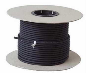 DMX Kabel 110 Ohm 100 Meter Rolle 3-polig  1 Rolle 100 Meter DMX Kabel 110 Ohm in schwarz