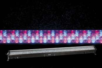 LED Light Bar 8 RGB 240 LED´s 10mm   • Inexpensive batten effekt • 8 sections • Power and data in- and output • Compact size   Die LED Light Bar 8 ist ein weiteres Mitglied der LED Light Bar Familie. Sie ist mit 240 LEDs in Rot