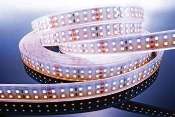 LED Stripe CW 3m 24V IP67 360 LEDs  KAPEGO LED Stripe CW 3m 24V IP67 360 LEDs  Mit dem flexiblen CW LED-Stripe von Kapego lassen sich moderne und stylische Lichtdesign-Konzepte hervorragend umsetzen. Von der Pool-, Fassaden-, Regal-, Fernseher- u