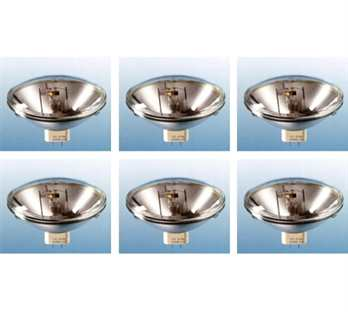 6x Par64 500W/230V VNSP CP60 Lampe