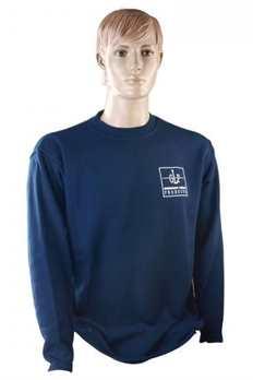 Sweatshirt Farbe Navy in Größe L  Mit diesem bequemen Sweatshirt von GLP in dunkelblauer Farbe sind Sie bestens für den Job ausgerüstet! Dieses T-Shirt ist in verschiedenen Größen erhältlich: M-XXL