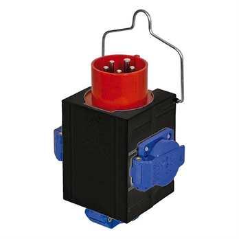 Showtec Powersplit 2 (16 Ampere CEE auf 3x Schuko)