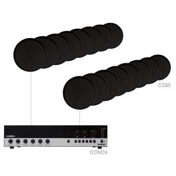 Audac AGRO 816 B Lautsprecherset schwarz