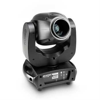 Auro Spot 100 - LED Moving Head  Hier erhalten Sie einen RDM fähigen Movinghead mit einer Auflösung von 16 Bit. Der Auro Spot 100 kann eine Pan Bewegung von 630° und eine Tilt Bewegung von 235°. Das Gerät wird von schnellen 3 Phasen Motoren angetri