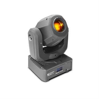 NanoSpot300 LED Mini Moving Head 30 Watt  Der NanoSpot 300 von Cameo ist ein Mini-Moving-Head mit einer lichtstarken 30 Watt LED und einem 540° Pan und 230° Tilt. Dieser Moving Head bietet Ihnen die Farben rot, orange, gelb, grün, blau, cyan und v