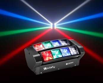 Cameo OCTAFLY XS, 2x4er LED Effekt