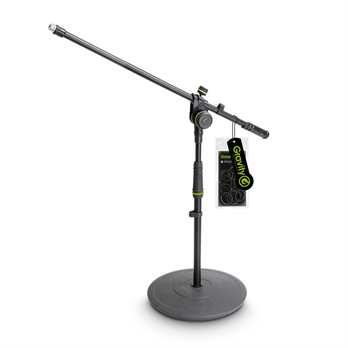 Gravity MS2221B - Mikrofonständer kurz mit Teller