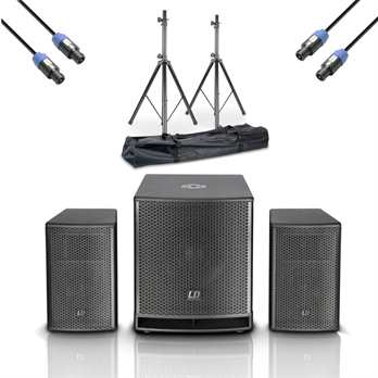 LD Systems Dave 15 G3 Kompaktes 15 Zoll PA Set