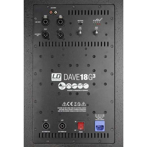 Ld Systems Dave G3 Serie Kompaktes 18 Zoll Pa Sys