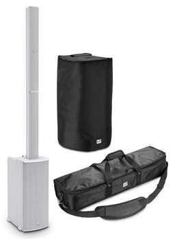 LD Systems Maui11G2W Säulen PA mit Mixer weiß Set