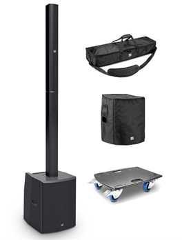 LD Systems Maui28G2-Set mit Taschen und Rollbrett