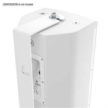 LD Systems SAT262G2WMBW schwenkbare Halterung weiß