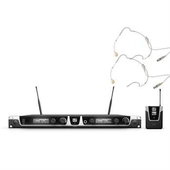 LD Systems U508BPHH2, 2er Funkset Belpack+Headset