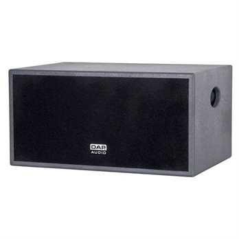 MI-152B 15 Zoll Dual Coil Bass 300W 2x4O  Spezifikationen Eingebauter Passive-Crossover für Satelliten-Lautsprecher Woofer: PF-1575190DV Nominale-Impedanz: 2 x 4 Ohm Power-Handling: 300 Watt Total Continuous Frequenzgang (-3 dB): 45 - 200 Hz Em