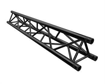 Global Truss F33 200cm mit Verbinder schwarz