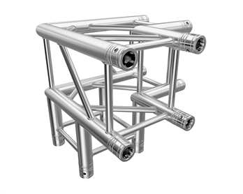 Global Truss F34C30 3-Weg Ecke 90 Grad