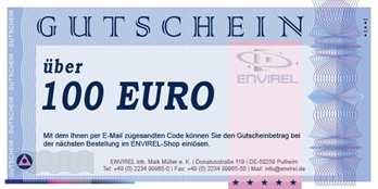 Online-Gutschein im Wert von 100 Euro