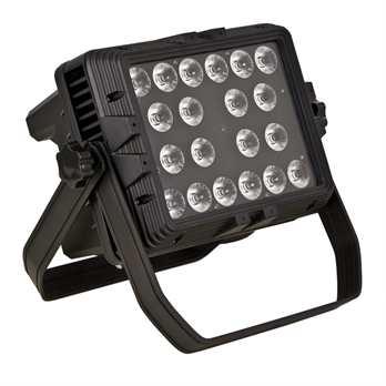 LED Outdoor Fluter mit 20x15W 5in1 RGBWA  Der LED Outdoor Fluter von InvoLight ist mit 20 5-in-1 RGBWA LEDs, die je einen Leistung von 15 Watt haben ausgestattet. Diese LED´s bietet Ihnen von weichen Pastelltönen bis hin zu satten, warmen Farb