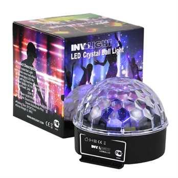 InvoLight LED Ball33 mit 6x3 Watt RGB LEDs